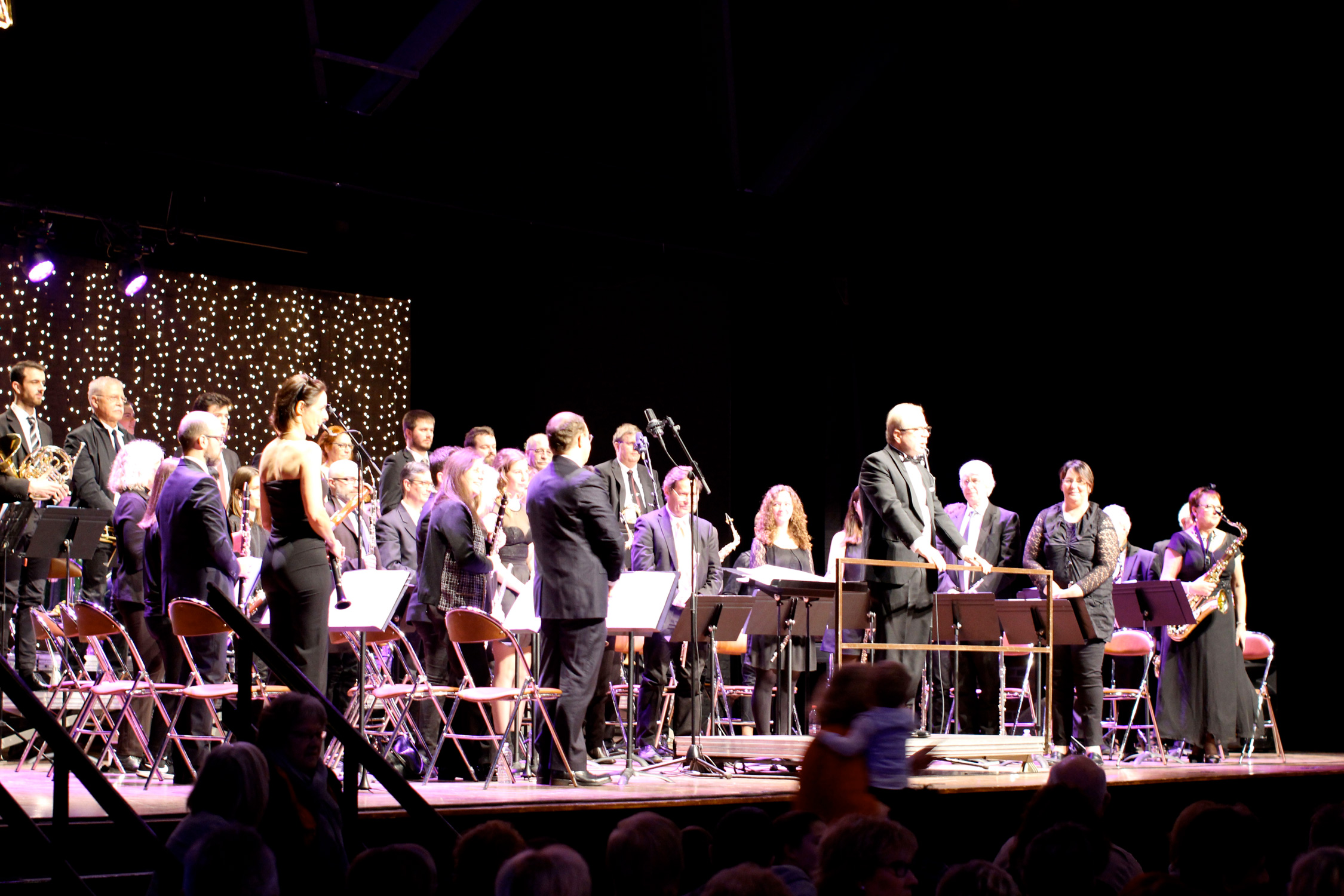Le JEH, Jeune Ensemble Harmonique de Villeneuve d'Ascq en concert