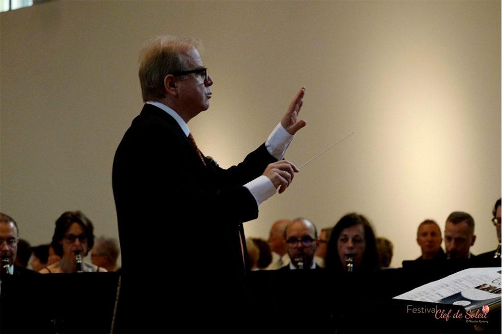 Denis Simándy, chef d'orchestre du JEH, Jeune Ensemble Harmonique de Villeneuve d'Ascq