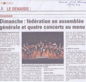 JEH article Voix du Nord 18 Octobre 2019