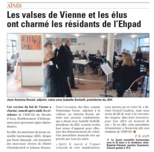 JEH article Nord Eclair Janvier 2013