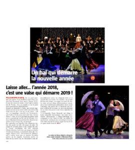 JEH et Entre2Danses article Voix du Nord 14 Janvier 2019
